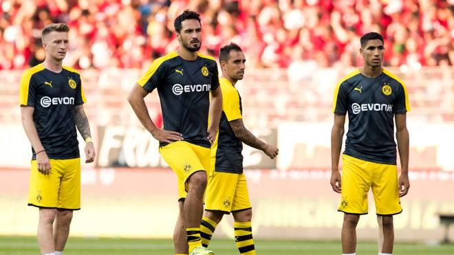 Marco Reus und Mats Hummels drohen gegen den VfL Wolfsburg auszufallen