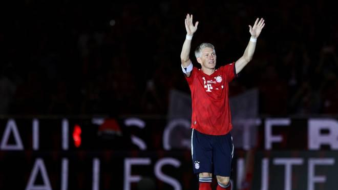 Bastian Schweinsteiger stand 500 Mal für den FC Bayern auf dem Platz