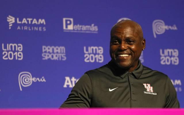 Heute ist Carl Lewis Co-Trainer bei der Universität von Houston