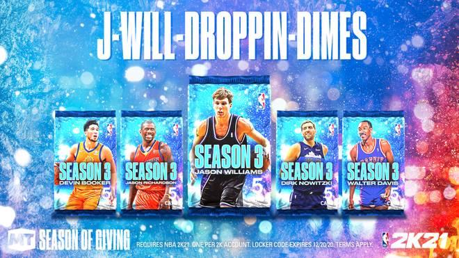 In der mittlerweile fünften Ausgabe des Season-3-Packs ist Jason Williams der Hauptpreis