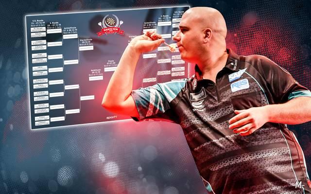 Rob Cross wurde 2018 Darts-Weltmeister