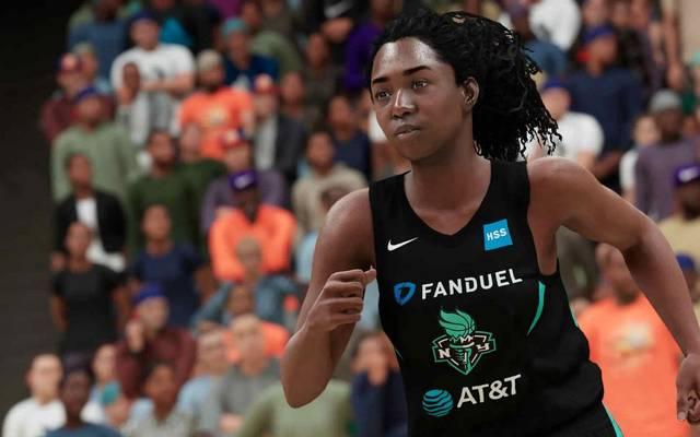 In den Next-Gen-Versionen bietet NBA 2K21 die Möglichkeit eine komplette Karriere als WNBA-Spielerin zu erleben