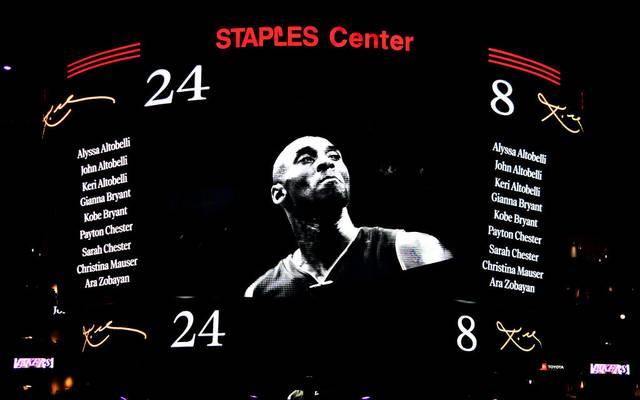Kobe Bryant wird in Chicago am Rande des All-Star Games geehrt