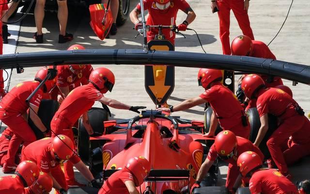 Ferrari hatte in dieser Saison Probleme mit Boxenstopps