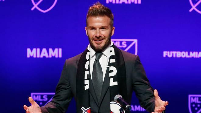 Beckham: Miami-Debüt gegen Ex-Team