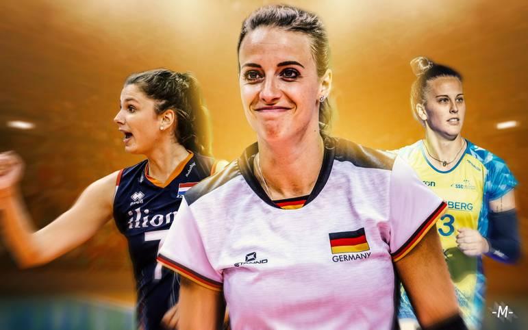 Als eine der Topligen Europas zieht die Volleyball-Bundesliga jährlich etliche Spitzenspielerinnen an. SPORT1 stellt die größten Stars der Liga der Saison 2019/2020 vor