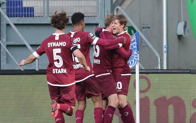 Dresden festigt die Tabellenführung in der 3. Liga