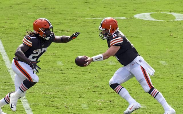 Die Browns bekommen es mit den Cowboys zu tun