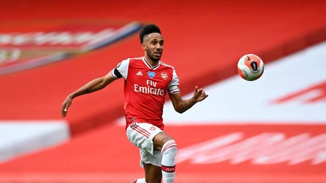 Pierre-Emerick Aubameyang könnte den FC Arsenal verlassen