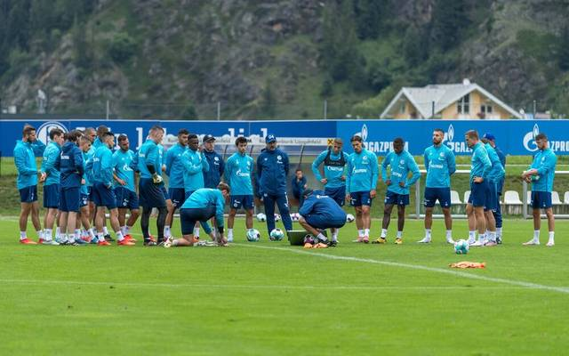 Der FC Schalke 04 absolviert sein Trainingslager in Längenfeld