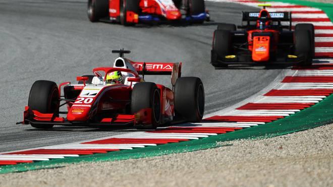 Mick Schumacher fährt derzeit in der Formel 2