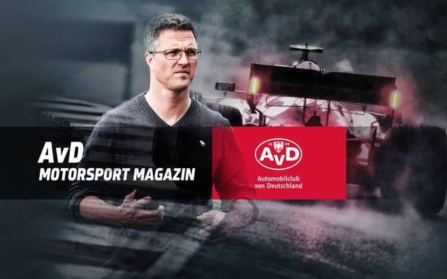 Ralph Schumacher ist am Sonntag zu Gast im AvD Motorsport Magazin auf SPORT1