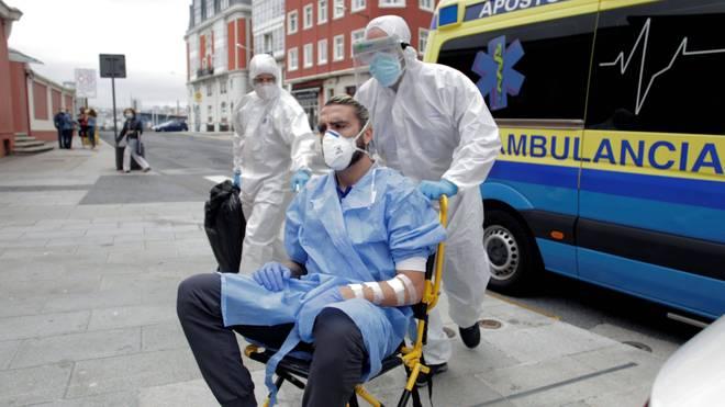 Ein Spieler von Fuenlabrada war im Krankenhaus - und kehrt jetzt in das Hotel zurück