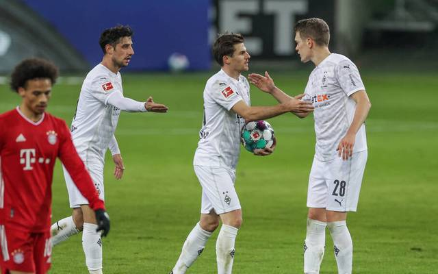 Jonas Hofmann wurde gegen Bayern zum Matchwinner