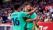 Karim Benzema sorgte für das Siegtor in Sevilla