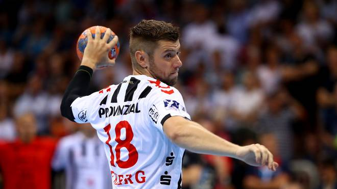 Lars Niclas Ekberg erzielte zehn Tore für den THW Kiel