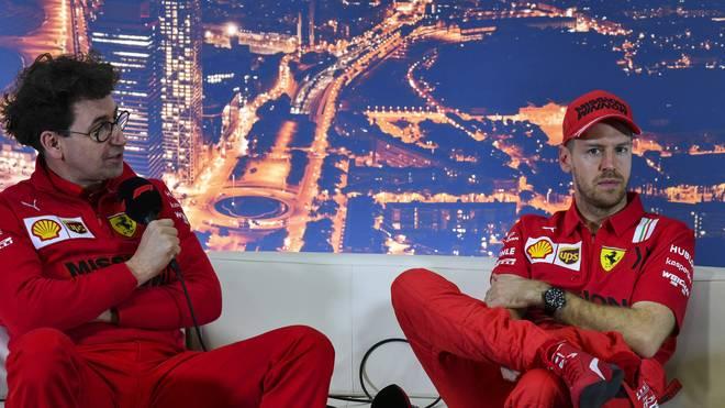 Sebastian Vettel steht seit 2015 bei Ferrari unter Vertrag