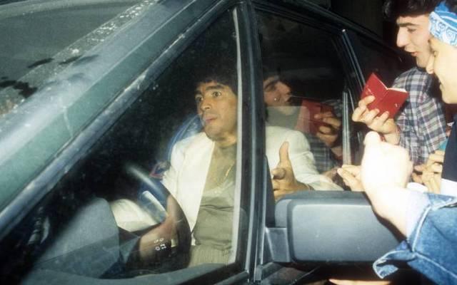 Der Personenkult beim SSC Neapel wurde Diego Maradona zur Last