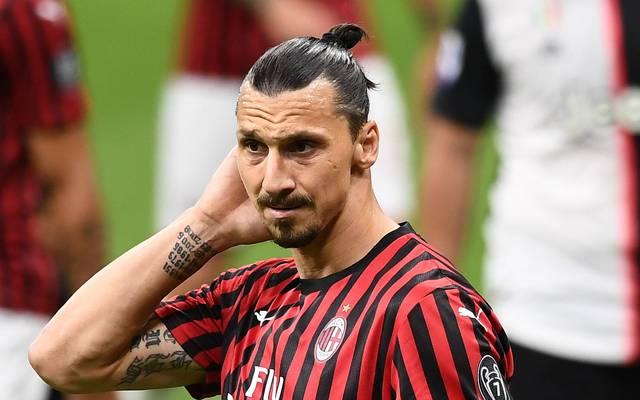 Zlatan Ibrahimovics Vertrag beim AC Milan läuft Ende August aus