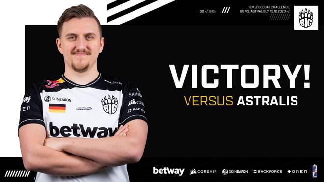 BIG bezwingt Astralis und Vitality bei der IEM Season XV Global Challenge - Halbfinale damit sicher
