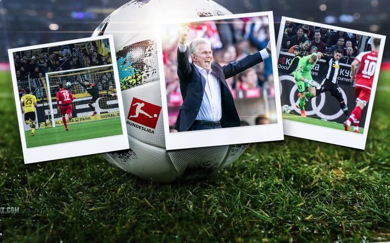 Die 55. Bundesliga-Saison ist Geschichte, einige kuriose, emotionale und erfolgreiche Momente bleiben in Erinnerung. SPORT1 präsentiert die Tops und Flops der Saison 2017/18