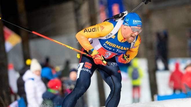 Erik Lesser startet mit Franziska Preuß in der Single-Mixed-Staffel