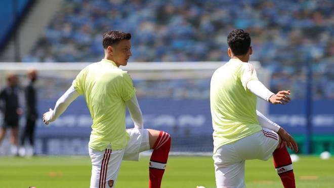 Rückenprobleme überstanden: Mesut Özil meldet sich fit