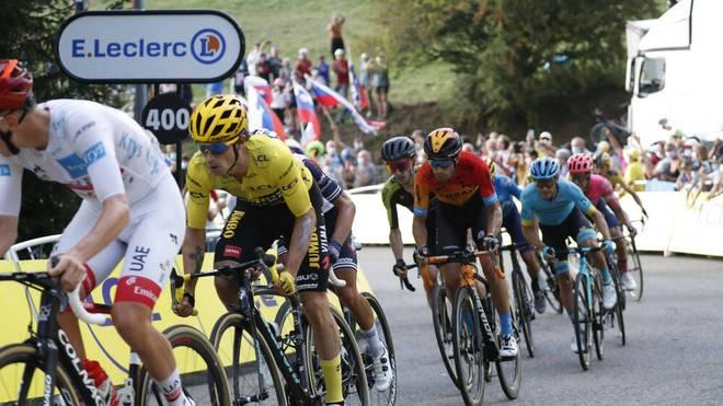 Primoz Roglic ist der Mann in Gelb