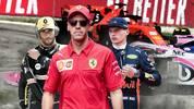 Sebastian Vettel führt das Rüpel-Ranking der Formel 1 an