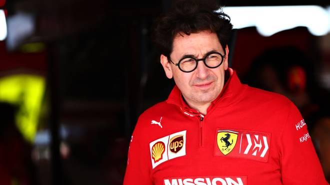 Mattia Binotto spricht über die Pläne von Ferrari