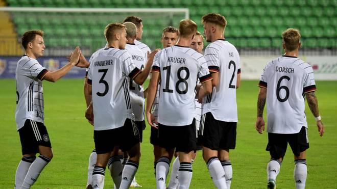 Die deutsche U21gewinnt gegen Moldawien