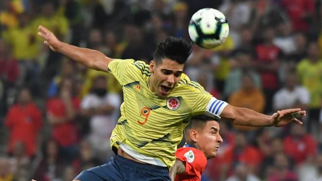 Radamel Falcao ist immer noch für Kolumbiens Nationalteam aktiv
