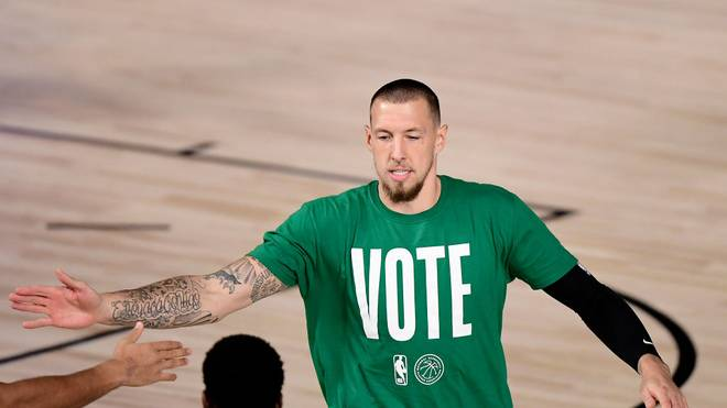 Daniel Theis spielt bei den Boston Celtics in der NBA