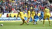Joelinton (M.) erzielte gegen den BVB das 1:0 für die TSG Hoffenheim