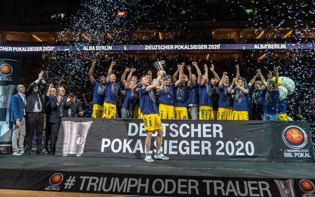Alba Berlin gewann den BBL Pokal 2020