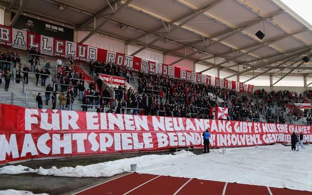 Die Fans von Rot-Weiß Erfurt haben ihre Forderungen bereits 2018 geäußert