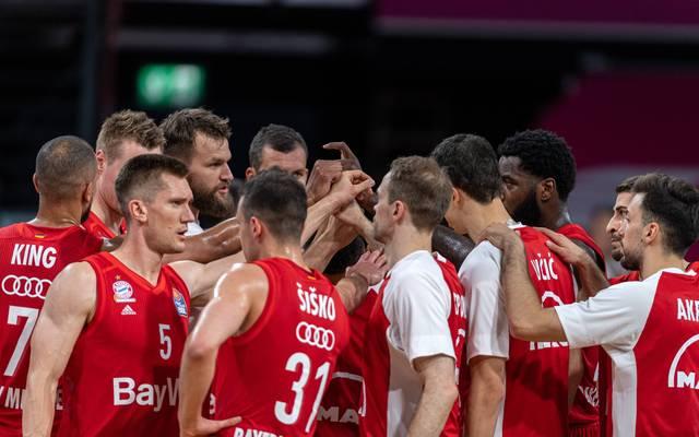 Die Bayern-Basketballer wollen gegen Oldenburg den nächsten Sieg einfahren