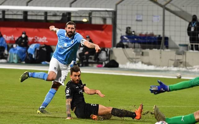 Sascha Mölders erzielte das entscheidende Tor gegen Ingolstadt