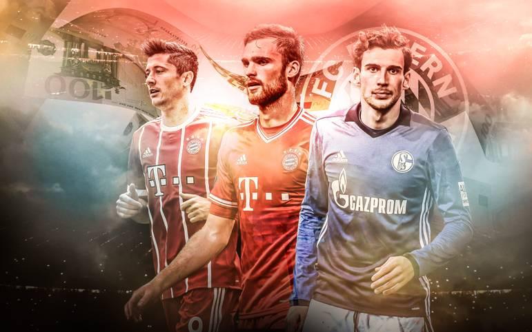 Im kommenden Sommer wechselt Leon Goretzka ablösefrei vom FC Schalke in Richtung Bayern München. Bereits vor ihm hat der Rekordmeister einige namhafte, aber auch weniger bekannte Spieler ohne Ablöse verpflichtet. SPORT1 zeigt die ablösefreien Transfers der vergangenen 20 Jahre