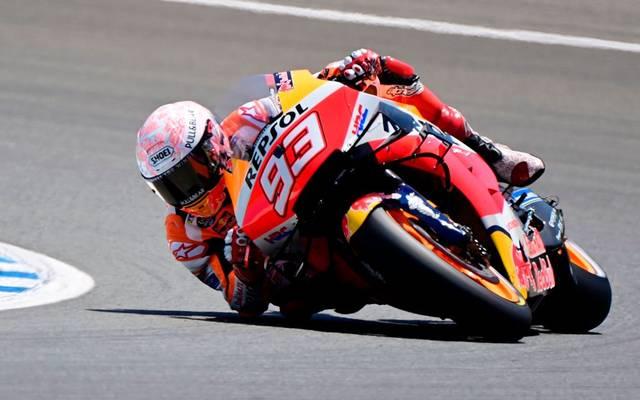 Marc Marquez ist in Jerez schwer gestürzt