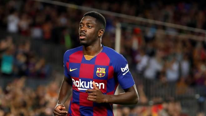 Ousmane Dembélé bestritt Ende November 2019 sein bislang letztes Spiel für den FC Barcelon
