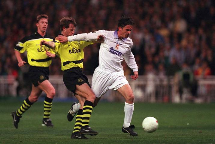 Borussia Dortmund gegen Real Madrid: Mittlerweile ein europäischer Klassiker. SPORT1 blickt zurück auf die historischen Duelle zwischen beiden Mannschaften