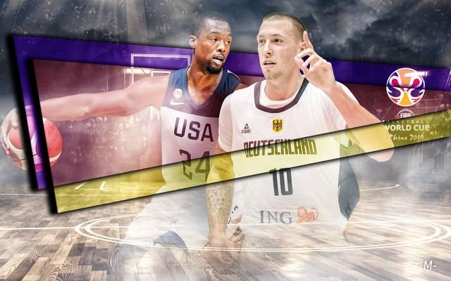 Wie schlagen sich die USA und Deutschland bei der Basketball-WM?