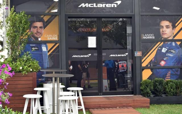 Im McLaren-Team gab es in Australien einen Corona-Fall