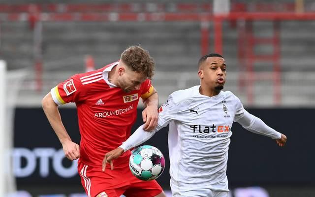 Alassane Plea traf für Borussia Mönchengladbach zum 1:1