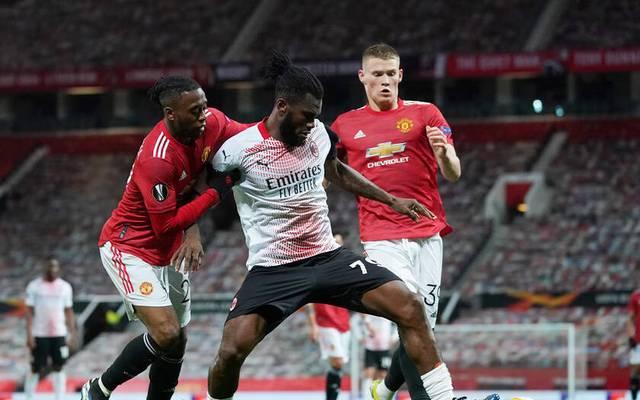 Der AC Mailand und Manchester United kämpfen um das Viertelfinale