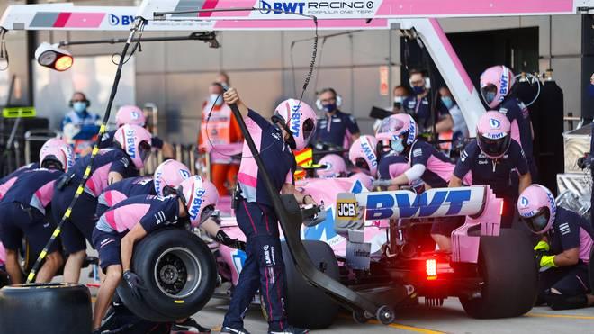 Racing Point ist wegen angeblicher Kopien von Mercedes in der Kritik
