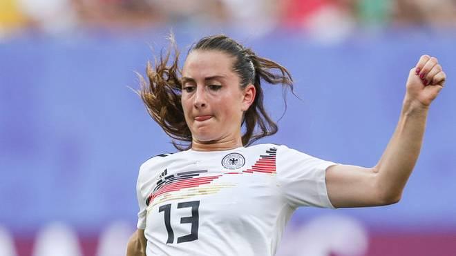 Sara Däbritz spielt für Paris St. Germain