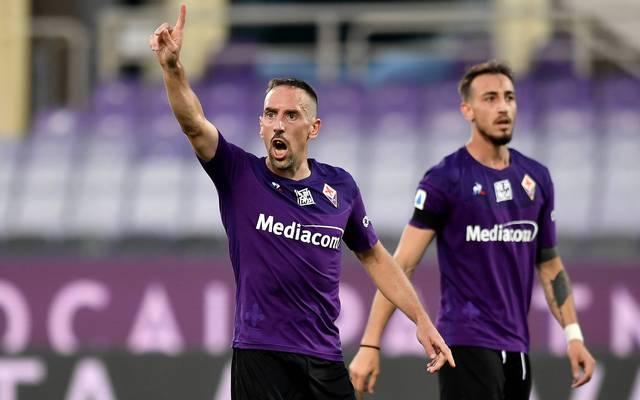 Franck Ribery brilliert im Moment mit starken Leistungen beim AC Florenz