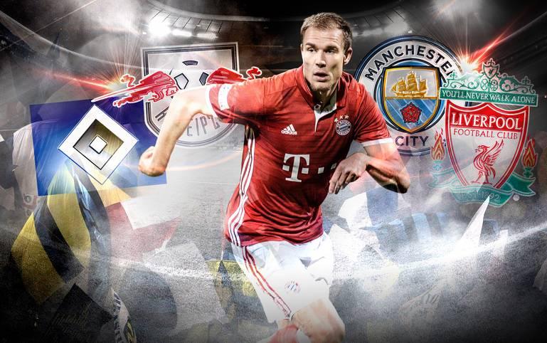 Nach über 14 Jahren beim FC Bayern München wird der Innenverteidiger den Verein verlassen. Sein Berater bestätigte, dass der 27-Jährige ausgeliehen werden soll. Doch wo geht es für den Linksfuß hin?
